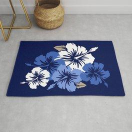 Epic Hibiscus Hawaiian Floral Aloha Shirt Print Rug