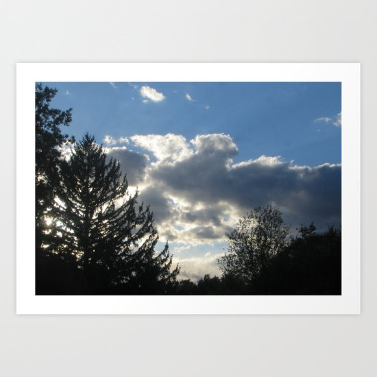 TreeStormCloud I Art Print