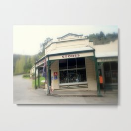 Walhalla - The Corner Stores Metal Print