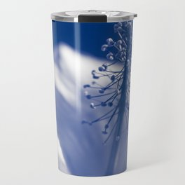 Enchanting Moments - Pua Aloalo - Koki'o Ke'oke'o - Hibiscus Arnottianus - Hawaiian White Hibiscus Travel Mug