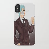 bleach iPhone & iPod Cases featuring Bleach: Grimmjow by Mattie