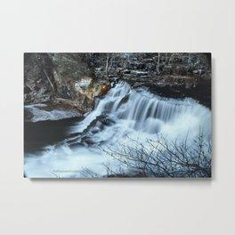 Big Falls Metal Print