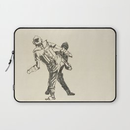 Tae Kwon Do Sparring Laptop Sleeve