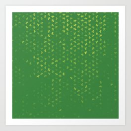 capricorn zodiac sign pattern gr Art Print