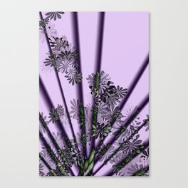 Floral Fanfare Canvas Print
