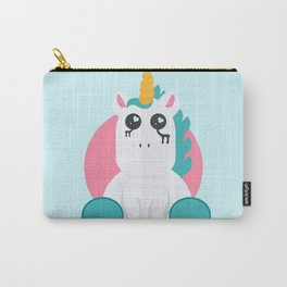 Even Unicorn's Get Sad Carry-All Pouch