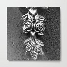 Vibrant city . Art object coupon , interiordecor . antique 6 Metal Print