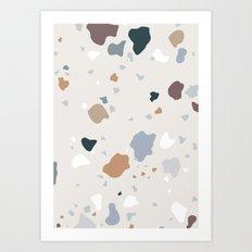 Pistachio Ice Cream Art Print
