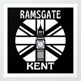 Ramsgate Kent  United Kingdom Big Ben Art Print