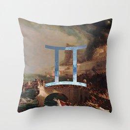 Fine Zodiac / Gemini Throw Pillow