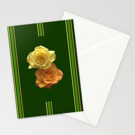 Season of the Flower - Rose Duet Stationery Cards