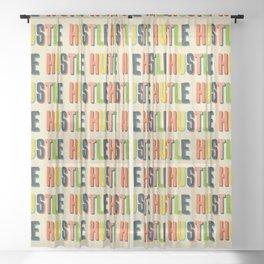 Hustle Sheer Curtain