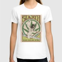 sloth T-shirts featuring Sloth by PsychoBudgie