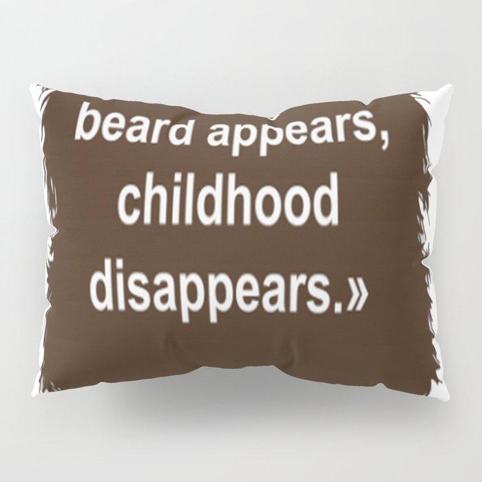 Beard Collection - Childhood Pillow Sham