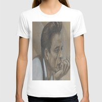 johnny cash T-shirts featuring Johnny Cash by Tex Bigrancher
