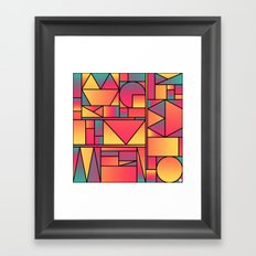 Kaku Cinco Framed Art Print