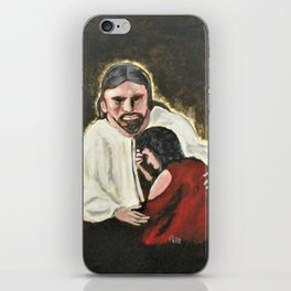 Mercy, No Sin To Great iPhone Skin