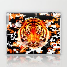 camouflage tiger on yellow  Laptop & iPad Skin