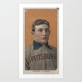 Honus Wagner Art Print