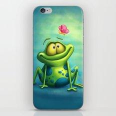 The frog iPhone & iPod Skin