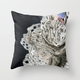 Emil and La Vie and Rose Throw Pillow