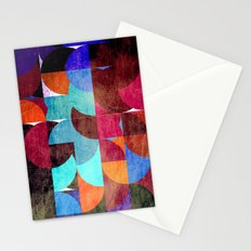 Retro colorful Stationery Cards