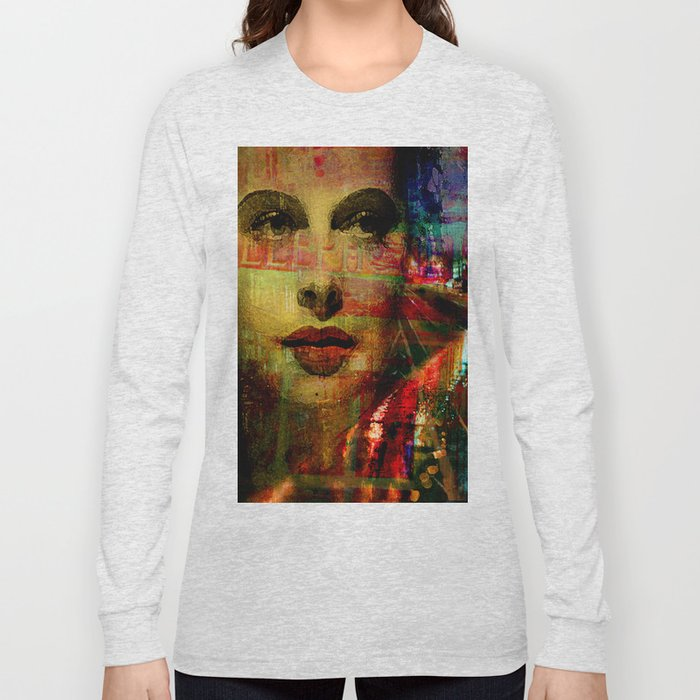 I wait for you below in the street Long Sleeve T-shirt