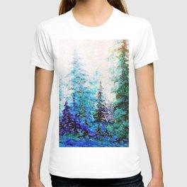 BLUE MOUNTAIN PINES LANDSCAPE T-shirt