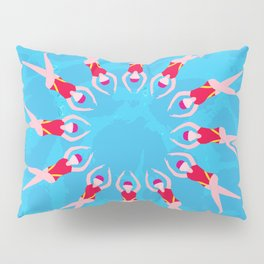 Synchronized Swimmers Pillow Sham