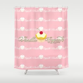 VANILLA CUPCAKE Shower Curtain