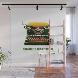 ORGANIC INVENTIONS SERIES: Vintage Smythe-Corn-A Typewriter Wall Mural