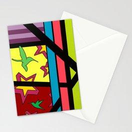 """Continue"" 22"" x 28"" x 1.5"" Montana Gold Spray Paint & Acrylic on Canvas  Stationery Cards"