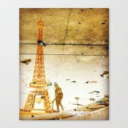 Alcoholics Anonymous at Tour Eiffel Canvas Print