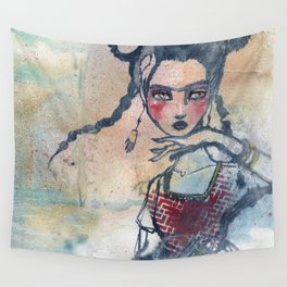 Frida is an Emotion by Jane Davenport Wall Tapestry