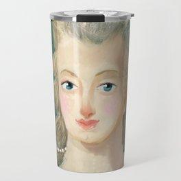 Marie Antoinette portrait Travel Mug