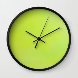 Green Tex Wall Clock