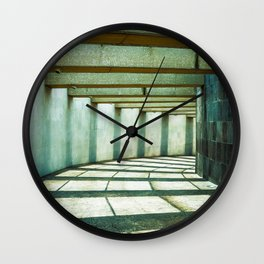 Clarity between shadows Wall Clock