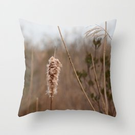 Cape May Nature Walk Throw Pillow