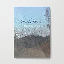 Unveiling Beauty - Tenderness Metal Print