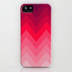 PINK OMBRÉ CHEVRON Slim Case iPhone (5, 5s)