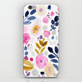 Pink Affair Floral iPhone Skin