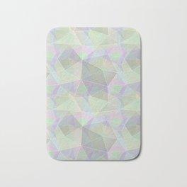 Polygonal pattern. Bath Mat