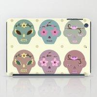 sugar skulls iPad Cases featuring Sugar Skulls by Terry Lee