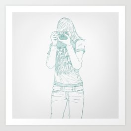 SKETCH Nº026 Art Print