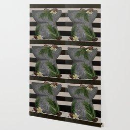 Latte Stone Coconut Wallpaper