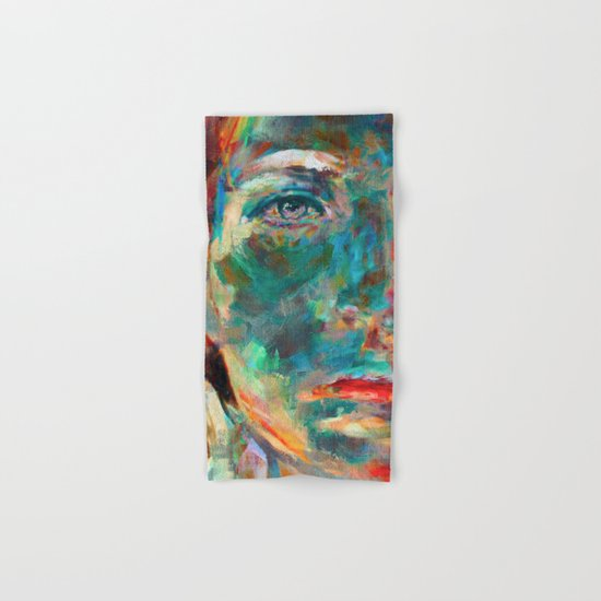 Face in Saturated Color's 2 Hand & Bath Towel