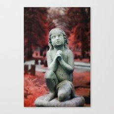 Kneel and Pray  Canvas Print