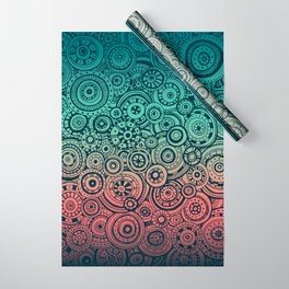 Round Rumination Wrapping Paper