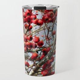 Red Berries Travel Mug