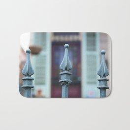 French Quarter Gate Bath Mat